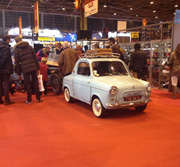 Ma Vespa400 exposee sur Retromobile 2014
